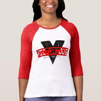 Segerrika kvinna Bella+KanfasT-tröja T Shirt