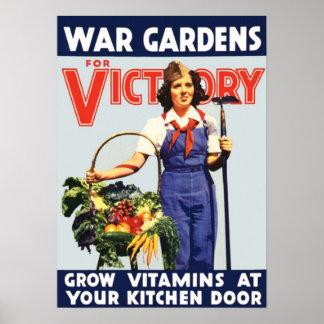 Segerträdgård Poster