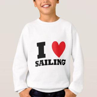 Segla.  Jag älskar Sailing. Tee