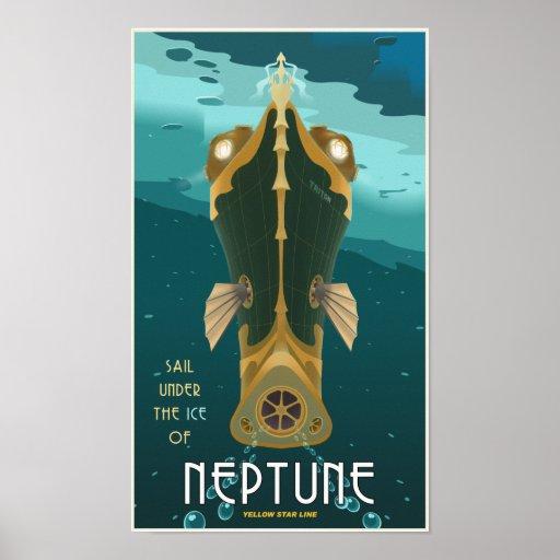 Segla Neptune Print