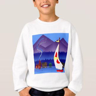 segla på semester tröjor