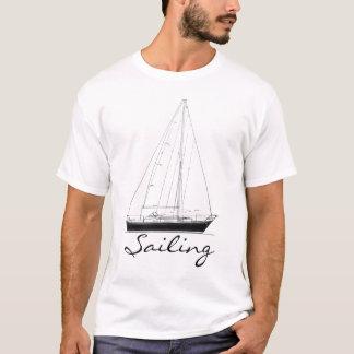 """""""Segla"""" skjortan med segelbåten Tee Shirt"""