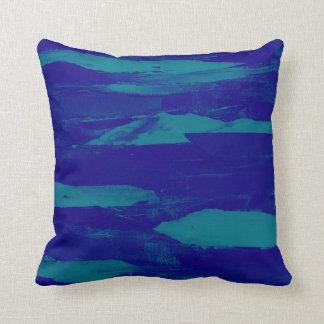 Segla utmed kusten för blått kudde