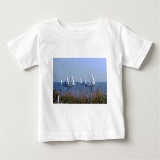 Seglar på chesapeaken t shirts
