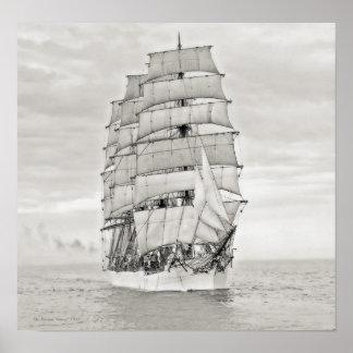 "Seglingfrakten ""Viking "", Affisch"