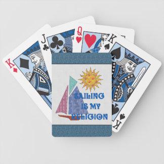 Seglingreligion Spelkort