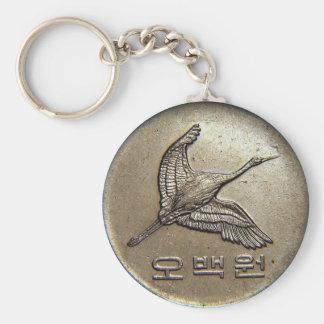 segrade 500 myntar korean rund nyckelring