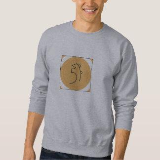 Sei honom Ki Reiki symbol Lång Ärmad Tröja
