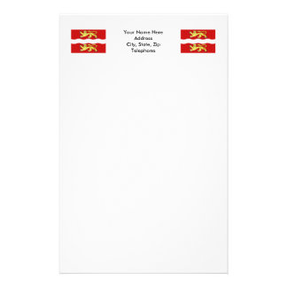 Seine-Maritim flagga Brevpapper