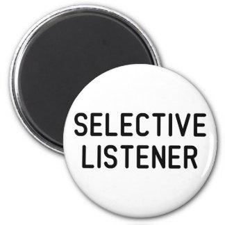 Selektiv lyssnare magnet rund 5.7 cm