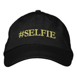 Selfie hatt broderad keps