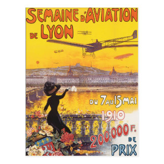 Semaine d'Aviation de Lyon Vykort