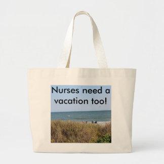 Semestertotot hänger lös precis för sjuksköterskor
