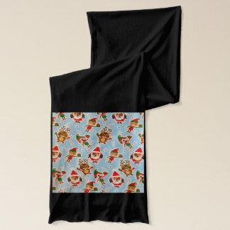 Semestra scarfen med katter, hundar, renen - halsduk