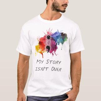 Semikolonet min berättelse är inte över t-shirts