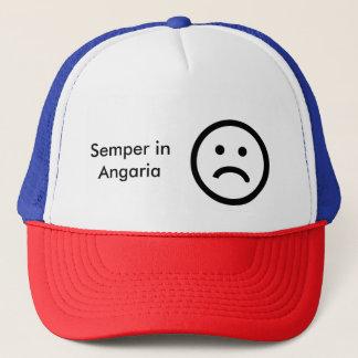 Semper i Angaria som förslavas alltid till ditt Truckerkeps