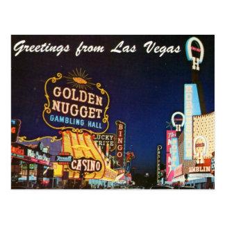 Sen 50-talLas Vegas vykort