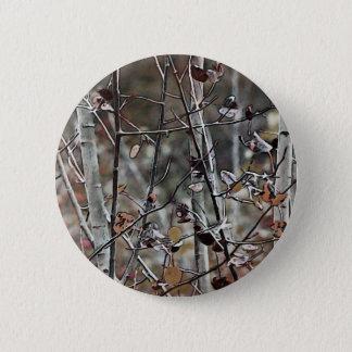 Sen höst för asp- skog standard knapp rund 5.7 cm
