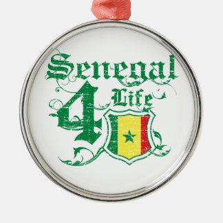Senegal för liv julgransprydnad metall