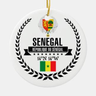 Senegal Julgransprydnad Keramik