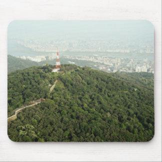 Seoul från det ovannämnda fotoet musmatta