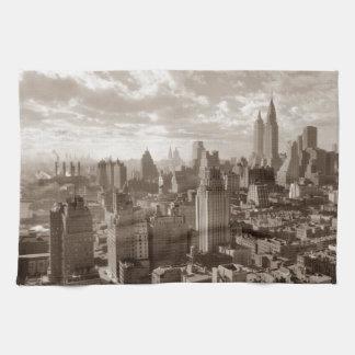 Sepia New York City Kökshandduk
