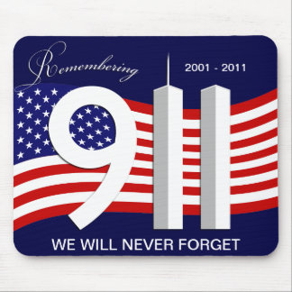 September 11th - 9/11 10th årsdag Mousepad Musmatta