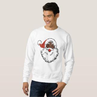 sequins svärtar jultomtenmanar tröja