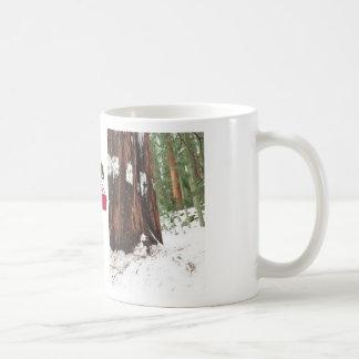 Sequoia i snömuggen vit mugg