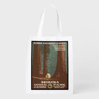 Sequoianationalpark Återanvändbar Påse