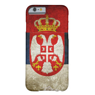 Serbia flagga barely there iPhone 6 skal