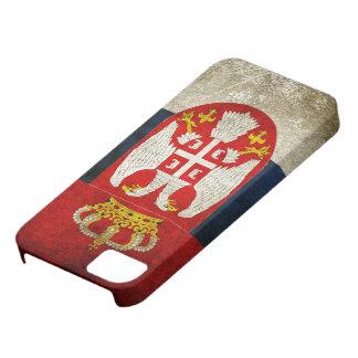 Serbia flagga iPhone 5 fodral