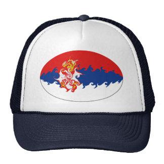 Serbia Gnarly flaggahatt Trucker Keps