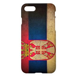 Serbisk flagga