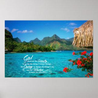Serenitybön & Bora Bora Poster