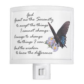 Serenity Prayer night light 1
