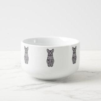 Serrade Petit katttecknad Soppmugg