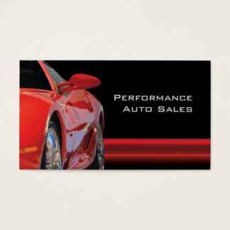 Servar Auto Salar för kickkapacitet och Visitkort