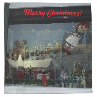 Servetter för julSanta parad
