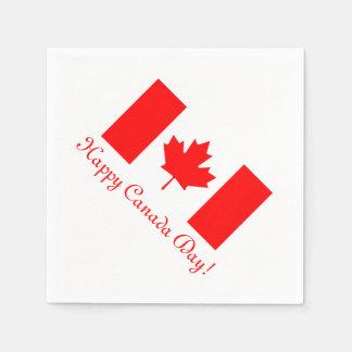 Servetter för Kanada dagpapper med kanadensisk
