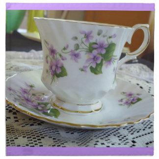 Servetter för kopp för Tea för vintagedrottningAnn