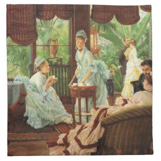 Servetter för party för James Tissot VictorianTea