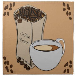Servetter för trasa för design för kopp för kaffeb