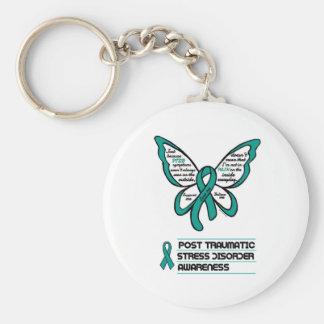 Service/kärlek/tror… PTSD Rund Nyckelring
