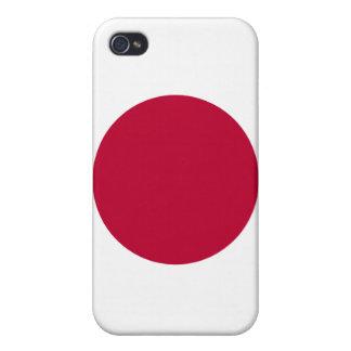 Servicelättnad i den Japan flagga av Japan iPhone 4 Cases