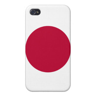 Servicelättnad i den Japan flagga av Japan iPhone 4 Cover