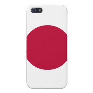 Servicelättnad i den Japan flagga av Japan iPhone 5 Fodral
