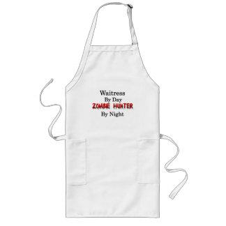 Servitris-/Zombiejägare Långt Förkläde