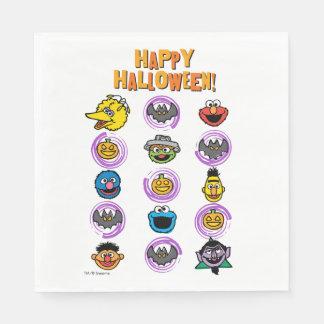 SesamgataPals - happy halloween! Pappersservett
