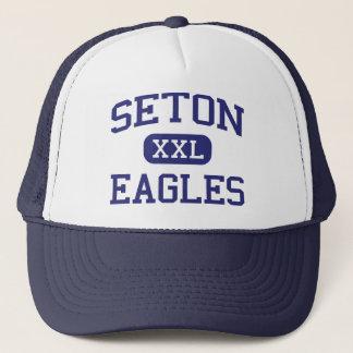 Seton - örnar - alternativ - Kansas City Truckerkeps
